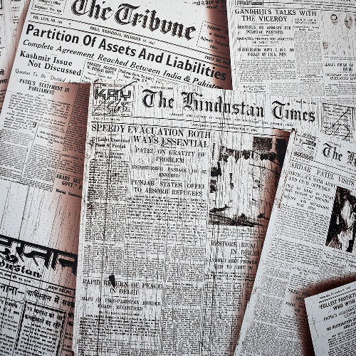 journaux, gros titres